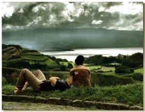 /Olhando o Céu e a Terra... apaixonadamente...