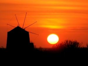 """Paisagem Natural/""""Os últimos raios de sol na Ilha negra"""""""