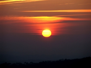 /por do sol XI