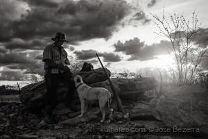 Fotojornalismo/O caçador e seu cão...