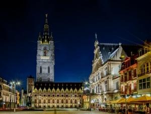 Paisagem Urbana/Ghent (Belgica) by night