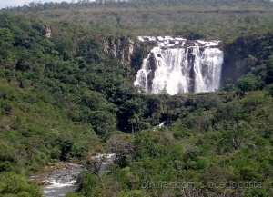 Paisagem Natural/Cachoeira do Salto-Rio Corumbá