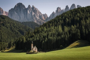 Paisagem Natural/Once Upon a Time, Dolomites, Italy