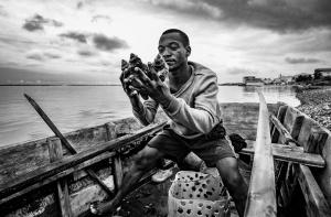 Fotojornalismo/O pescador de búzios