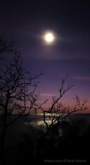 Paisagem Natural/Ei-la, que aos altos céus calada......