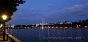 Paisagem Urbana/Mirandela à noite