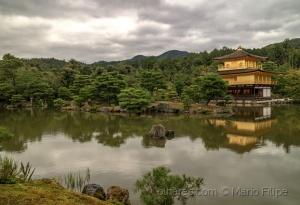Arquitetura/Templo do Pavilhão Dourado Kinkaku-ji   (ler)