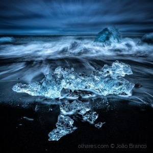 /Jokulsalron Diamond Beach